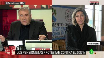Victoria Portas, de la Coordinadora Estatal para la Defensa del Sistema Público de Pensiones
