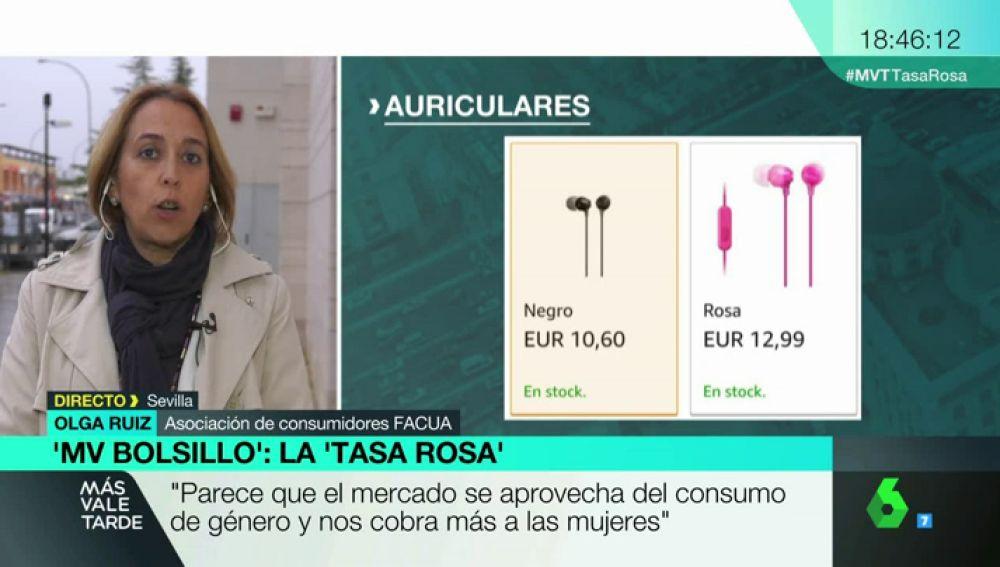 Olga Ruiz, portavoz de FACUA