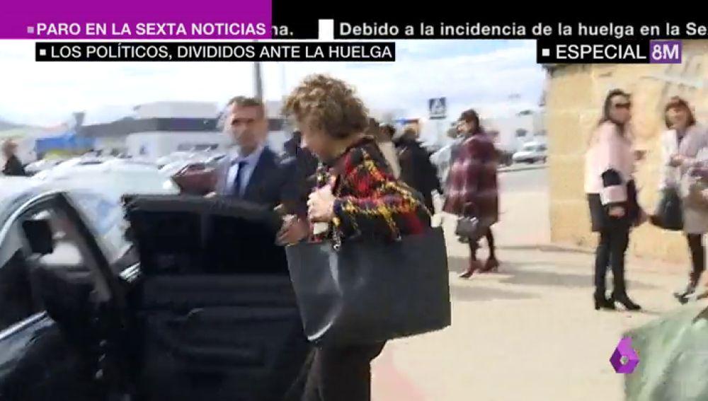 """""""Ministra Montserrat, feminismo es igualdad"""": la huelga del 8M marca todas las agendas políticas, menos la del PP"""
