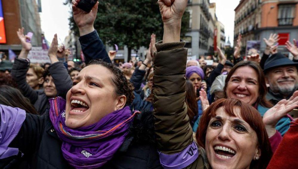 Día Internacional de la Mujer en Madrid