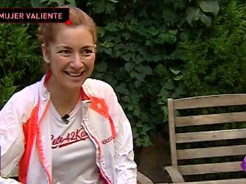 Natacha López, una mujer valiente