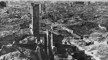 Ciudades castigadas por las guerras