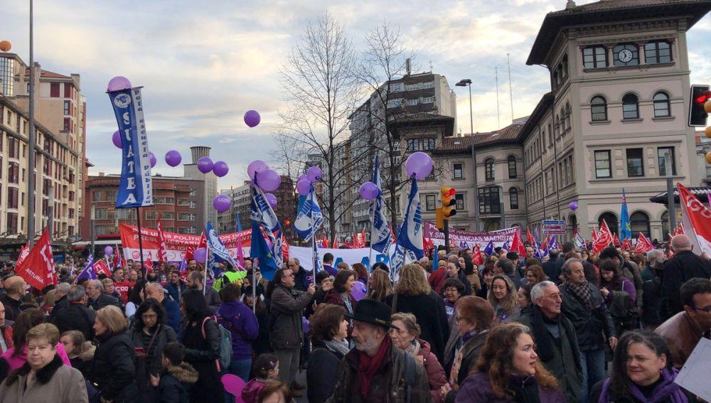 8M. Huelga de mujeres en Gijón