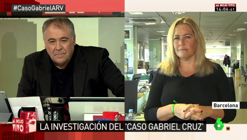 La periodista Mayka Navarro
