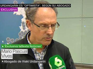 El abogado de Urdangarin con laSexta Noticias