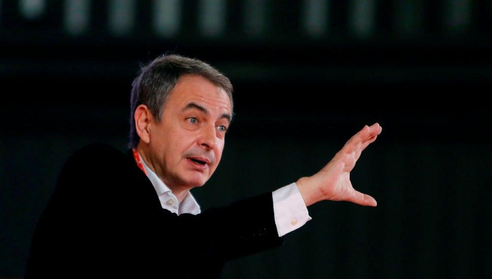 El expresidente del Gobierno, José Luis Rodríguez Zapatero