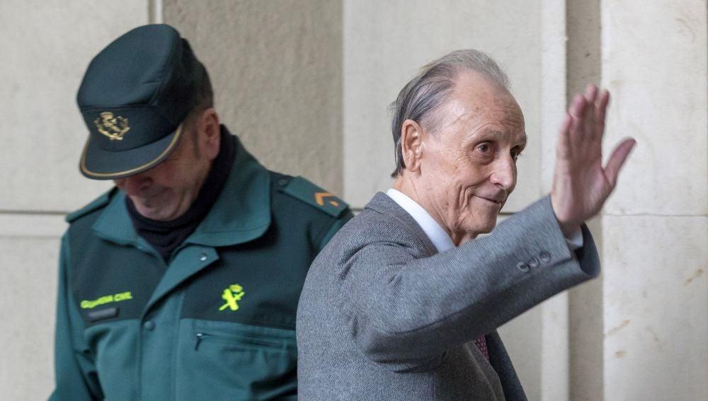 Manuel Ruiz de Lopera entra a los juzgados