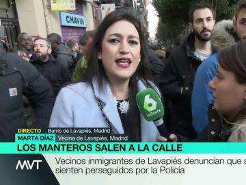 Marta Díaz, vecina de Lavapiés