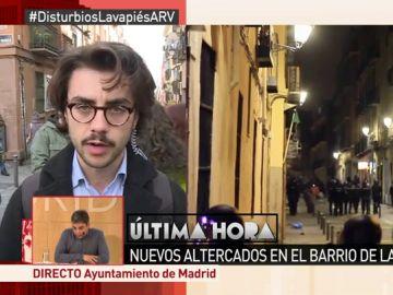 Marcos Bartolomé, testigo de lo ocurrido en Lavapiés