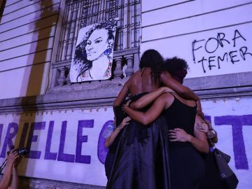 Una multitud despide a Marielle Franco