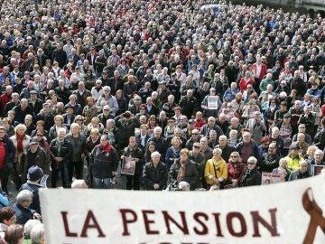 Manifestación de pensionistas (Archivo)
