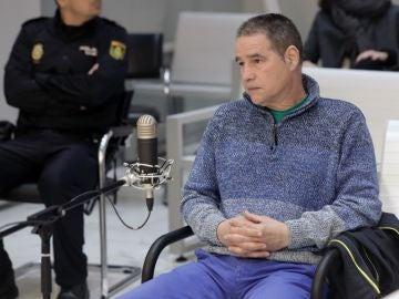 El histórico etarra Antón Troitiño, durante el juicio
