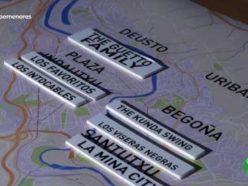 """""""Hablan como delincuentes colombianos porque ven 'Narcos' y su referente es Pablo Escobar"""": Así actúan las bandas de menores de Bilbao"""
