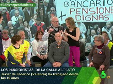 Javier de Federico, pensionista