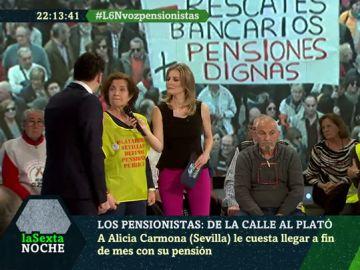 Alicia Carmona, pensionista