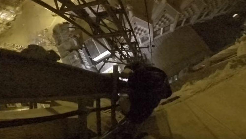 Una captura del vídeo