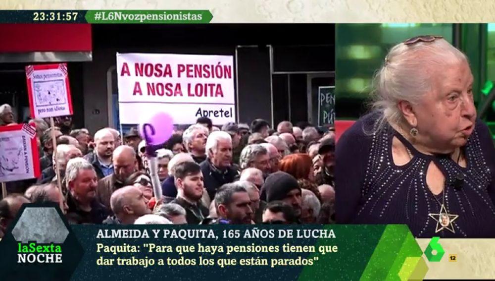 Paquita, pensionista