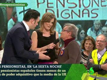 Ana García, pensionista