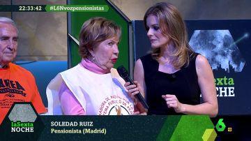 Soledad Ruiz, pensionista