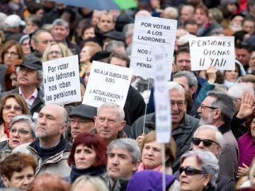 Los jubilados reclaman pensiones dignas