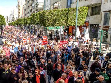 Manifestación en Almería