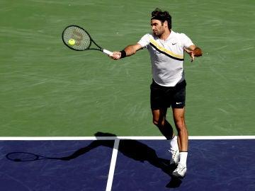 Roger Federer en Indian Wells
