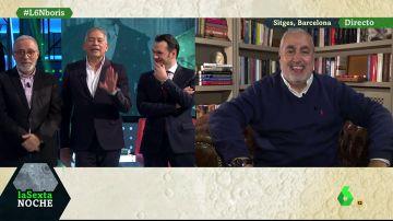 Boris Izaguirre, Xavier Sardà y Jorge Salvador