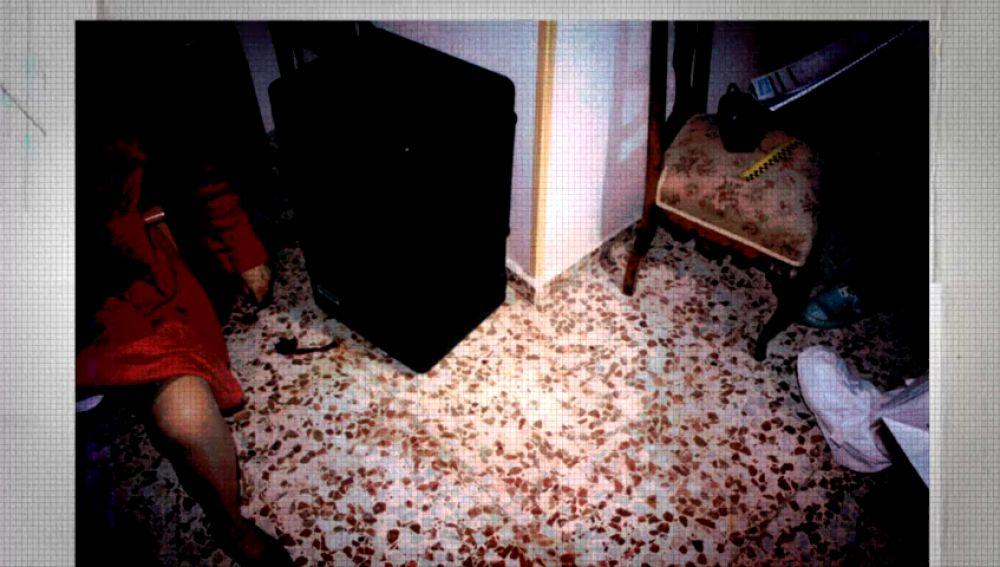Escena del crimen de Alhama