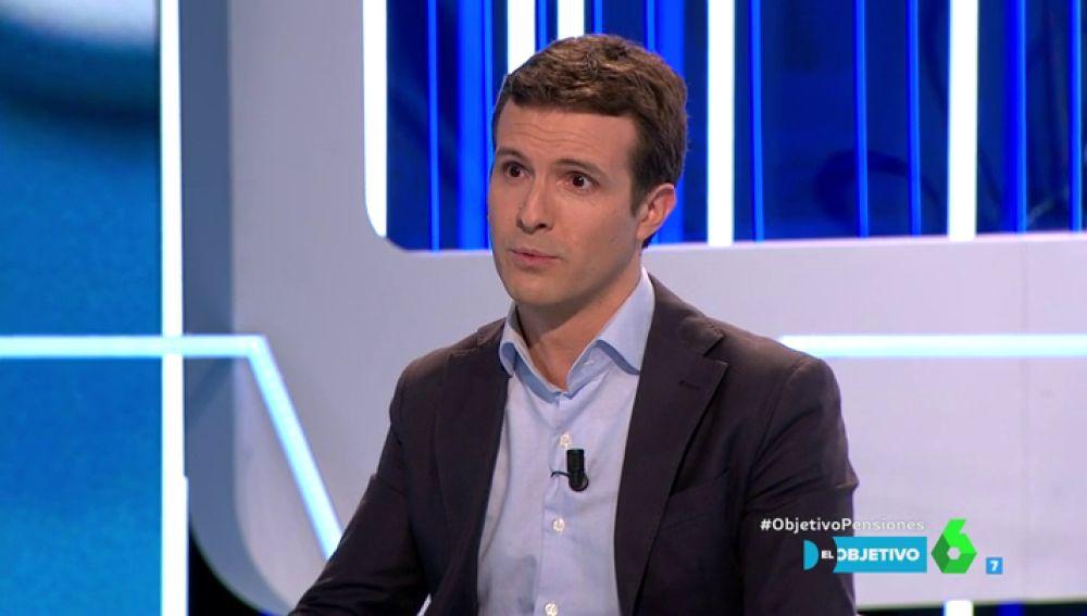 Pablo Casado, en El Objetivo