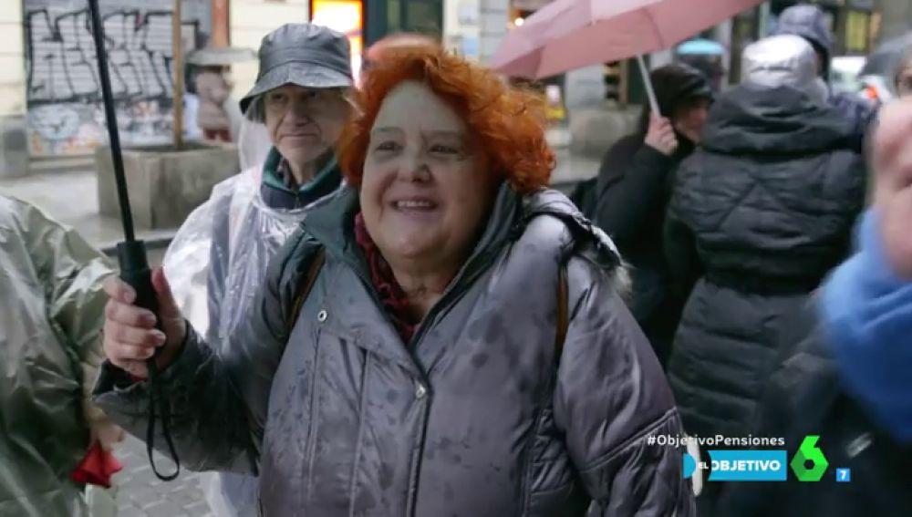 Maribel, pensionista