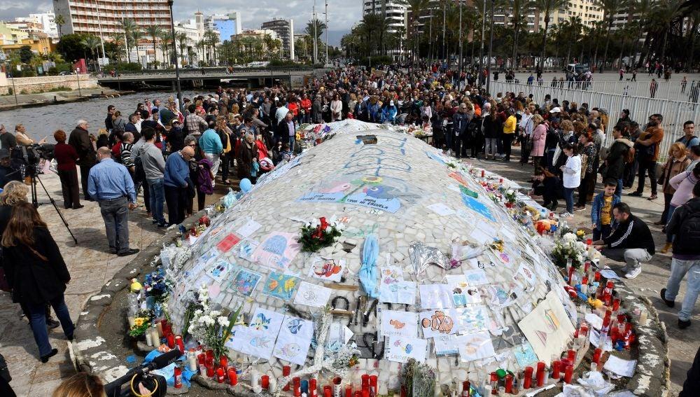 Concentración en Almería, contra la derogación de la prisión permanente revisable