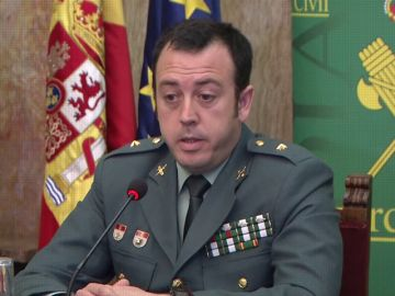 Juan Jesús Reina, comandante de la UCO de la Guardia Civil