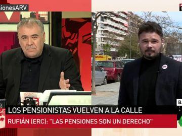 Portavoz adjunto de ERC en el Congreso, Gabriel Rufián