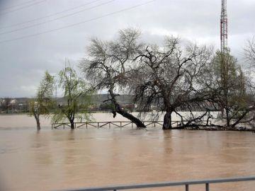 Imagen de archivo de una inundación