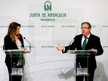 Susana Díaz junto a Juan Ignacio Zoido
