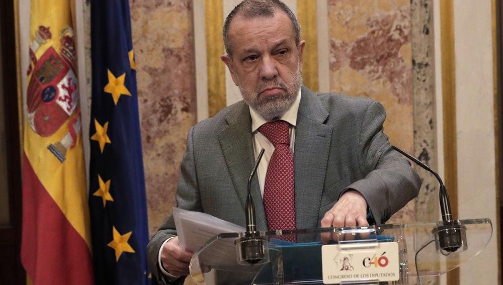Francisco Fernández Marugán, el Defensor del Pueblo en funciones