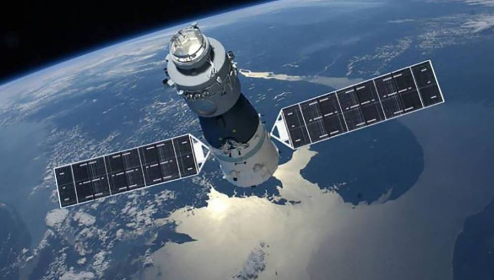 la estación espacial china Tiangong-1