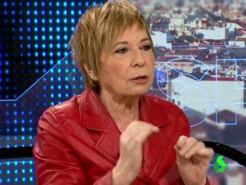 Celia Villalobos habla sobre las pensiones