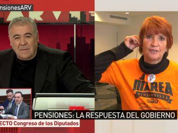 Conchita Ribera, miembro de 'Marea Pensionista'