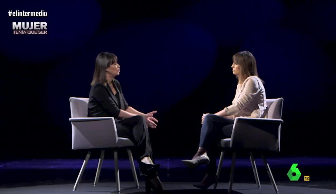 Sandra Sabatés entrevista a Mabel Lozano, en Mujer tenía que ser
