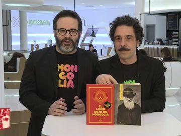 Edu Galán y Darío Adanti, de la 'Revista Mongolia'