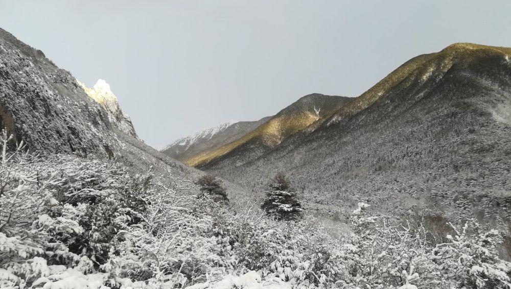 Nieve en los Pirineos