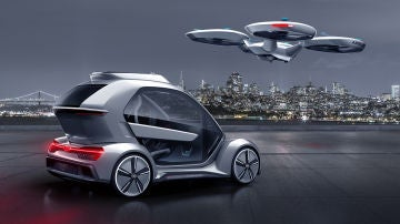 Audi se une a Airbus e Italdesign en el desarrollo de un coche modular y volador