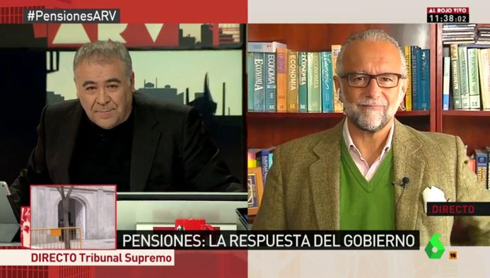El catedrático de Economía, José María O'Kean