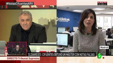 La redactora jefa de Sociedad de 'eldiario.es', Raquel Ejerique