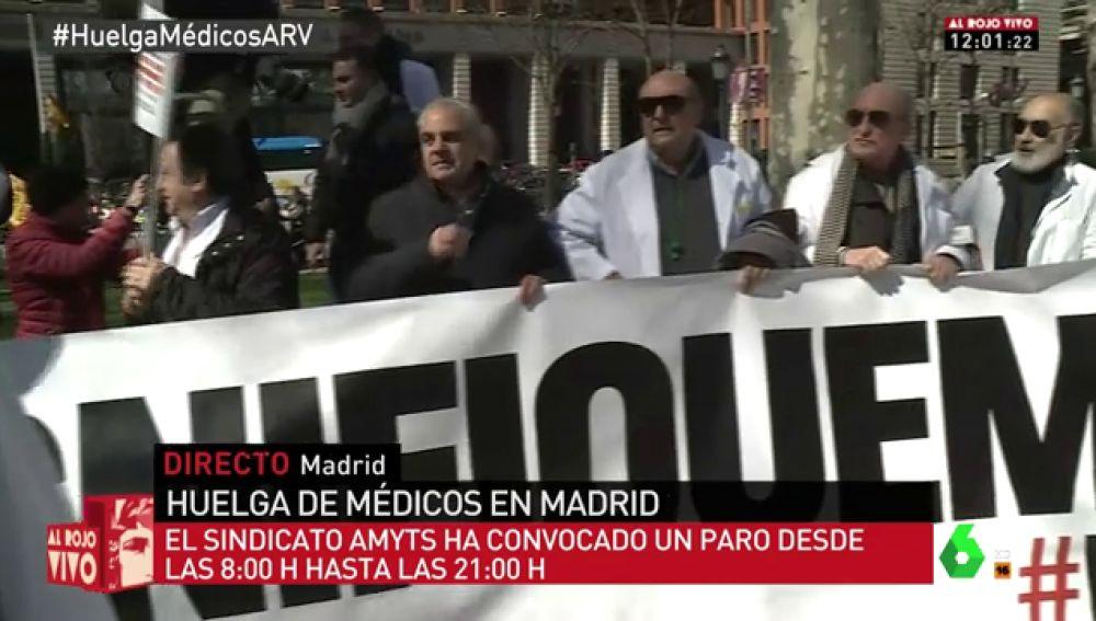 Huelga de médicos en Madrid