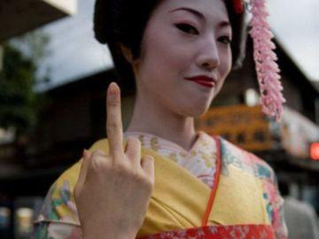 Peineta japonesa