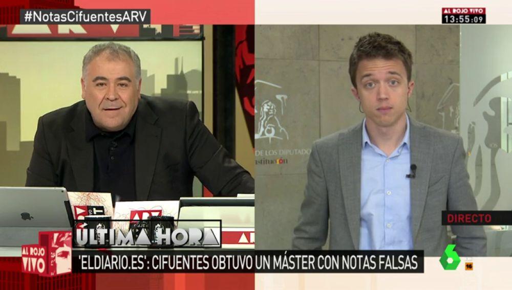 Íñigo Errejón, secretario de Análsis Estratégico de Podemos en el Congreso