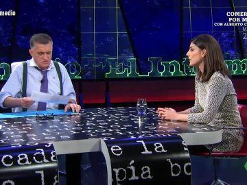 Raquel Ejerique visita El Intermedio