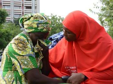 Secuestradas por Boko Haram se reencuentran con sus familiares